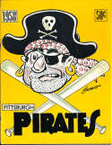 1958 Pittsburgh Pirates Baseball Yearbook ex v1