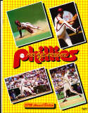 1985 philadelphia Phillies Baseball Yearbook nm v1