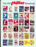 1983 Philadelphia Philles Baseball Yearbook  v1