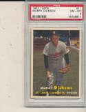 Murry Dickson Cardinals #71 1957 Topps card PSA 8 NM