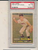 Foster Castleman Giants #237 psa 8 NM 1957 Topps card