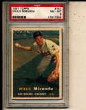 Willie Miranda Orioles #151 1957 Topps card PSA 8 NM
