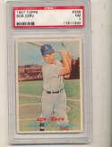 Bob Cerv A's #269 psa 7 nm 1957 Topps card