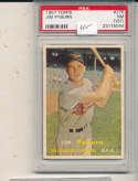 Jim Pyburn Orioles #276 psa 7 st 1957 Topps card