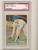 Earl Torgeson Tigers #357 psa 7 nm 1957 Topps card