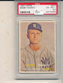 Bobby Shantz Yankees #272 psa 6.5 em 1957 Topps card