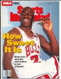 6/23 1992 Michael Jordan Sports Illustrated newsstand nm