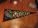 Souvenir of the Rolling Stones black pennant