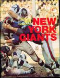 1971 New York Giants Football Yearbook nm bx29