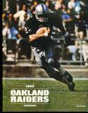 1968 Oakland Raiders Football Yearbook bx29