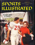 11/9 1959 University of Texas Football Sports Illustrated newsstand nm