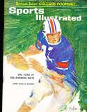 9/21 1964 Jimmy Sidle Auburn Sports Illustrated newsstand nm