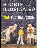 9/21 1959 Virginia Tech football issue Sports Illustrated newsstand nm
