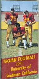 1971 USC FOOTBALL GUIDE NRMT  BOX FB2