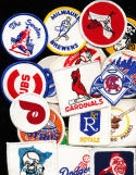 1971 Kraft Food Baseball Patches Set complete 24 set