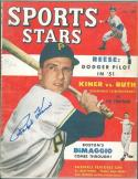 1950 No Label Sports Stars Signed by Ralph Kiner