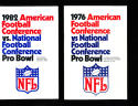 1976 AFC vs NFC Pro Bowl Press Media Guide