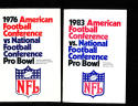 1976 Pro Bowl AFC vs NFC  Press Media Guide