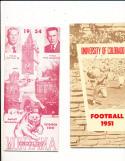 1954 University of Montana football press media guide em CFBmg1