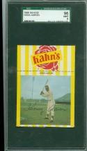 1968 Kahn's Hank Aaron large SGC 9 mint