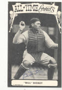 Billy Dickey  New York Yankees signed tcma post card
