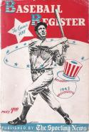 1942 The Sporting News Baseball Register - Joe Dimaggio yankees | Box br