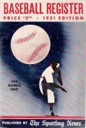 1951 The Sporting News Baseball Register   Box reg