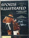 1958 9/1  Floyd Patterson Boxing Signed Sports Illustrated