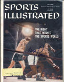 1959 7/6 Floyd Patterson Boxing Signed Sports Illustrated