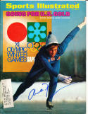 1972 1/31 Annie Henning Speed Skating olympics Signed Sports Illustrated