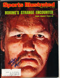 1975 3/24 Chuck Wepner Boxing Signed Sports Illustrated