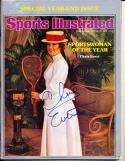 1976 12/20 Chris Evert Sportsman  Newsstand Signed Sports Illustrated no label