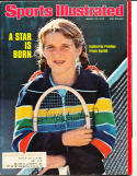 1976 3/22 Tracy Austin tennis Signed Sports Illustrated