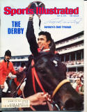 1976 5/10 Angel Cordero kentucky derby bold Signed Sports Illustrated