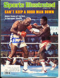 1979 10/8 Ernie Shavers Boxing Signed Sports Illustrated