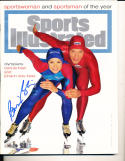 1994 12/19 Bonnie Blair newsstand sportsman Signed Sports Illustrated