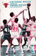 Chicago Bulls 1970-71 Basketball Yearbook and Media Guide