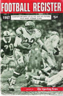The sporting news  1967 Football Media register Chiefs Curt McClinton