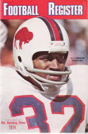 The sporting news  1974 Football Media register - Buffalo Bills - O.J. Simpson