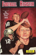 The sporting news  1975 Football Media register- Oakland Raiders - Ken Stabler