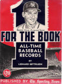 One For The Book 1962 All-Time MLB Media Guide - Braves - Warren Spahn