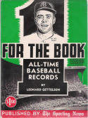 One For The Book 1957 All-Time MLB Media Guide - Pee Wee Reese