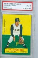 1964 topps Stand-Up psa 7 bill Mazeroski pirates