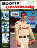 1962 October Sport Cavalcade Bob Feller nm no label psa/dna