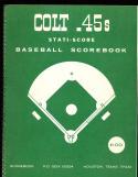 1964 Houston Colt .45s  Stati-score unscored