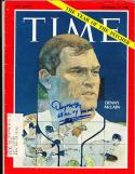 1968 9/13 Time Magazine Signed Denny Mclain em