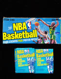 1977 Fleer NBA BAsketball Team Stickers 24 pack & complete box