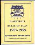 1957 -1978 8 basketball rules & scores guides