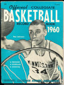 1960 Official collegiate NCAA Basketball Record book Ron Johnson Minnesota