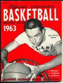1963 Official collegiate NCAA Basketball  record book Jim Kerwin Tulane